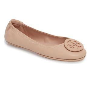 Tory Burch Minnie Travel Ballet Flats 8.5